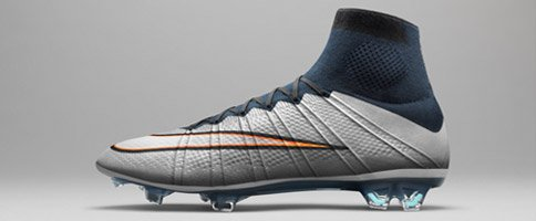 CR7 Nike Mercurial Superfly Silver