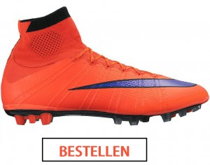 Mercurial Superfly Red purple
