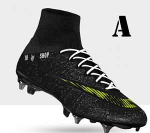 Ontwerp je eigen voetbalschoen!
