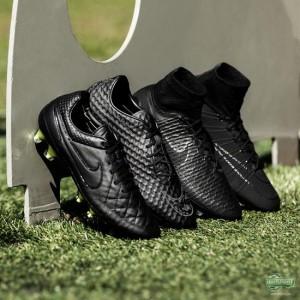 nike zwarte voetbalschoenen