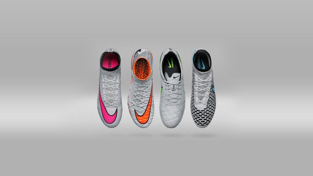 Nike Silver Storm Voetbalschoenen