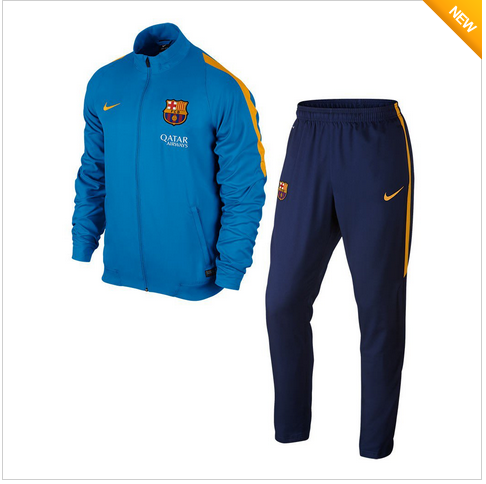 De Nieuwste Voetbal Trainingspakken 2015-2016 - Barcelona