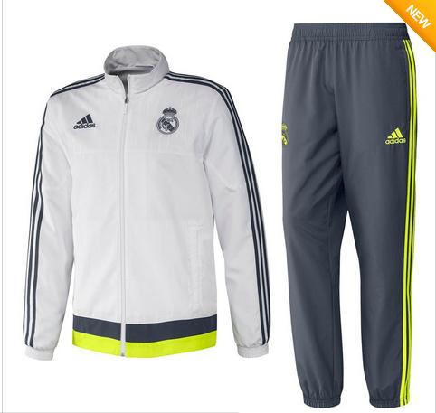 De Nieuwste Voetbal Trainingspakken 2015-2016 - Real Madrid