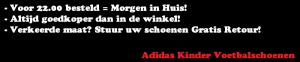 Adidas Kinder Voetbalschoenen
