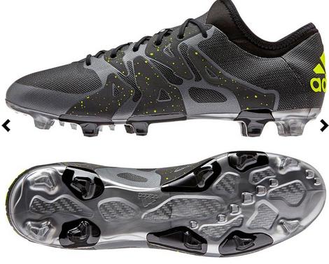 Nieuwe zwarte adidas voetbalschoenen - X