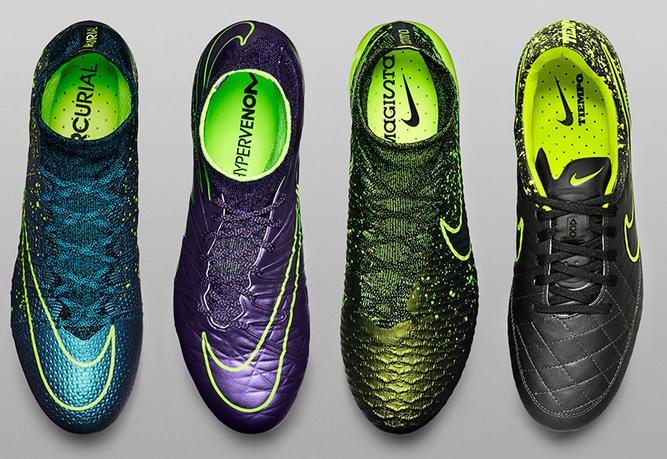 Nieuwe voetbalschoenen najaar 2015