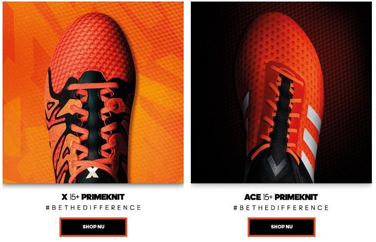 oranje adidas voetbalschoenen