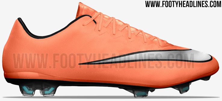 Nike Mercurial Vapor X Oranje 2016