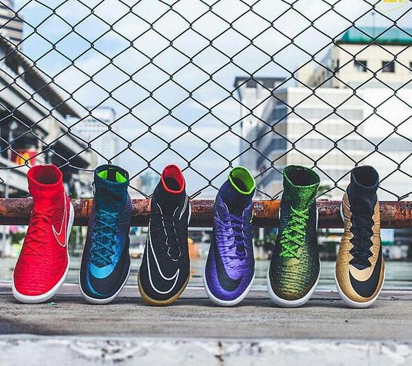 Nike Zaalvoetbalschoenen met sok indoor