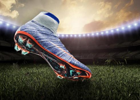 Voetbalschoenen met sok vrouwen 2016 magista