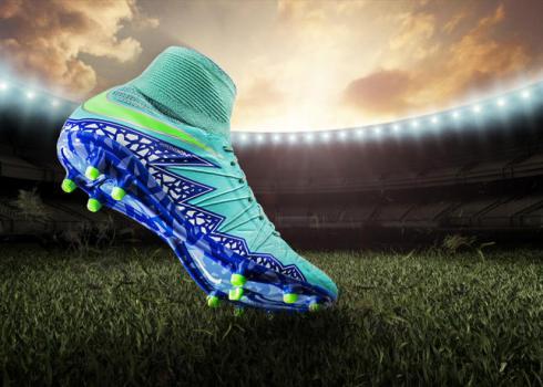 Voetbalschoenen met sok vrouwen 2016 mercurial