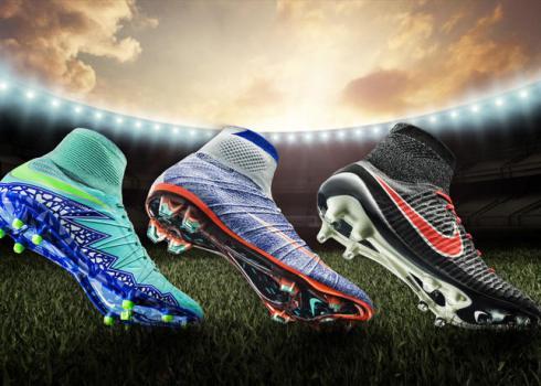 Voetbalschoenen met sok vrouwen 2016
