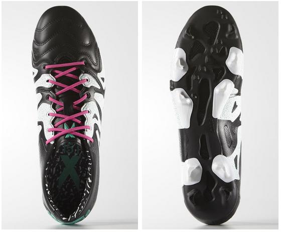 Zwart met Witte adidas X Voetbalschoenen