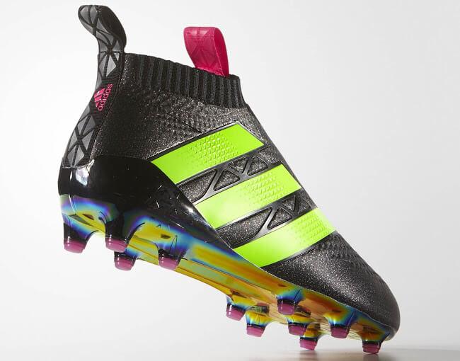 Adidas ace groen-zwart zonder sokje