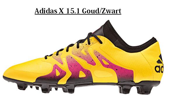 Adidas x 15.1 goud