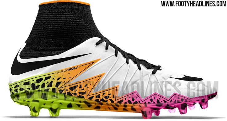 Nike Hypervenom Phantom Multicolor