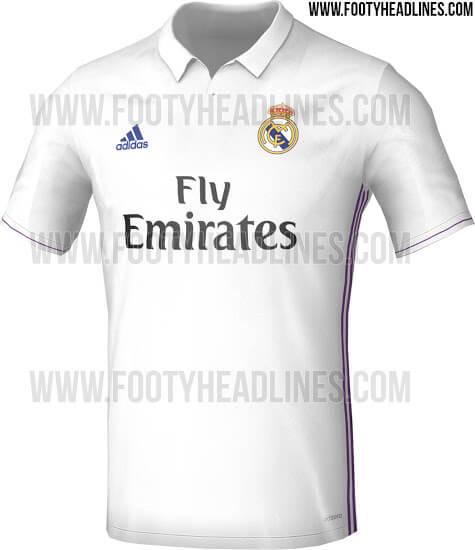 real madrid shirt 2016-2017
