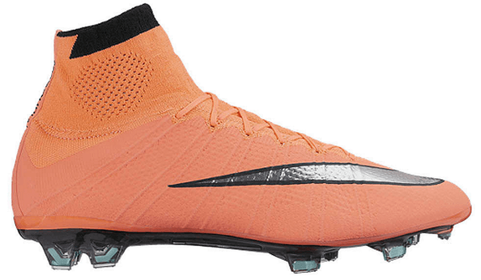 Oranje Nike mercurial superfly